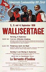 Gauchat Pierre - Wallisertage