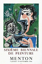 Anonym - Sixième Biennale de peinture, Menton