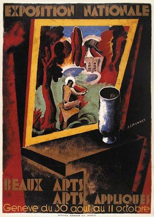 Mennet Jean Jacques - Exposition nationale