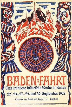 Anonym - Baden-Fahrt