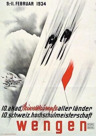 Anonym - Akad. Skiwettkämpfe