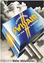 Trio Agencé - Swissair Cigarettes