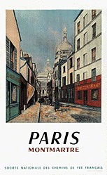 Anonym - SNCF - Paris-Montmartre