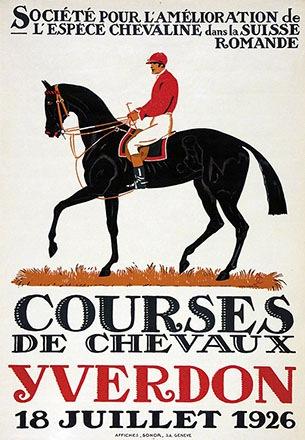Courvoisier Jules - Courses de chevaux