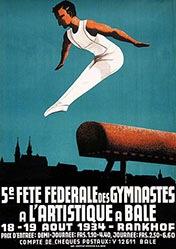 Anonym - Fête des Gymnastes