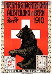 Monogramm A.Z. - Postwertzeichen Bern