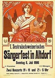 Anonym - Sängerfest Altdorf