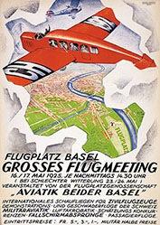 Mangold Burkhard - Grosses Flugmeeting
