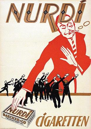 Anonym - Nurdi Cigaretten