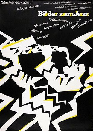 Troxler Niklaus - Bilder zum Jazz
