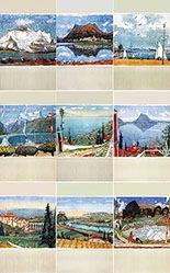 Carigiet Alois - Schweiz (9 Motive)