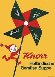 Monogramm Wy. - Knorr Holländische Gemüse-Suppe