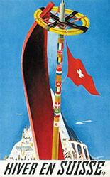 Carigiet Alois - Hiver en Suisse