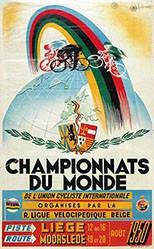 Lemaire Edgard - Championnats du monde Cycliste