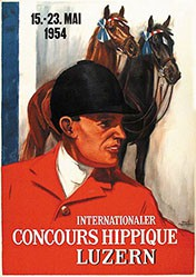 Hugentobler Iwan Edwin - Concours Hippique Luzern