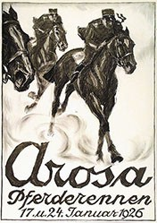 Laubi Hugo - Pferderennen Arosa