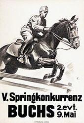 Ernst Otto - Springkonkurrenz Buchs