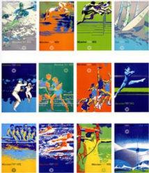Diverse Künstler - Olympische Spiele München (12 Plakate)