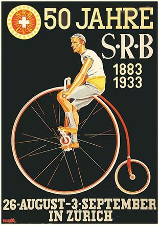 Huber Emil - 50 Jahre SRB