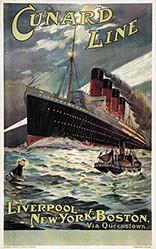 Rosenvinge Odin - Cunard Line