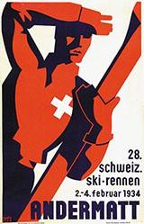 Rick Numa (Rickenbacher Walter) - 28. Schweiz. Ski-Rennen