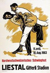 Gfeller Werner - Nordwestschweizerisches Schwingfest