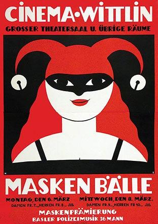Stoecklin Niklaus - Maskenbälle