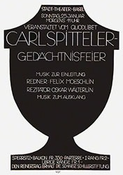 Stoecklin Niklaus - Carl Spitteler Gedächnisfeier
