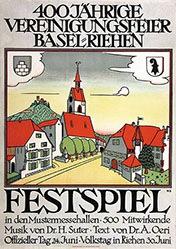 Stoecklin Niklaus - Festspiel