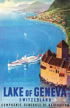 Anonym - Lake of Geneva