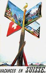 Carigiet Alois - Vacances en Suisse
