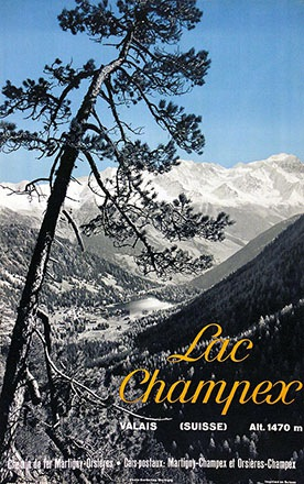 Darbellay Oscar (Photo) - Lac Champex
