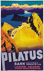 Ernst Otto - Pilatus Bahn