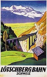 Henziross Eugen - Lötschbergbahn