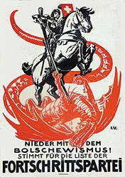 Monogramm l.V. - Fortschrittspartei