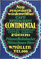 de Praetere Jules - Hotel Continental Zürich