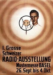 Anonym - Radio-Ausstellung Basel