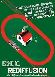 H Z Reklame - Radio Rediffusion