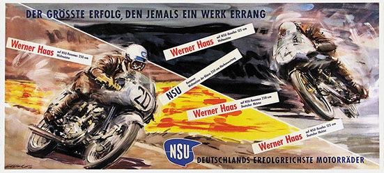 Gotschke Walter - NSU Motorräder