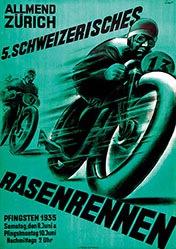 Ernst Otto - Rasenrennen Zürich