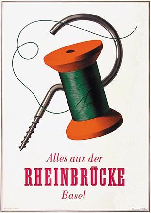 Birkhäuser Peter - Alles aus der Rheinbrücke Basel