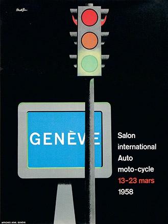 Brun Donald - Salon de l'Automobile Genève