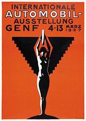 Curval G. - Automobil-Ausstellung Genf