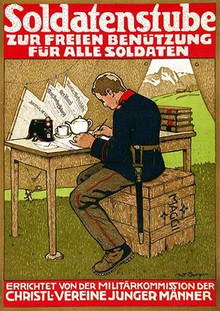 Burger Wilhelm Friedrich - Soldatenstube