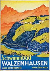 Schlatter Ernst Emil - Schwimmbad Walzenhausen