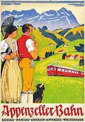 Burger Wilhelm Friedrich - Appenzeller Bahn