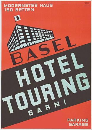 Schott Ferdinand - Hotel Touring Basel