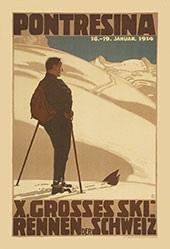 Burger Wilhelm Friedrich - X. Grosses Ski Rennen der Schweiz