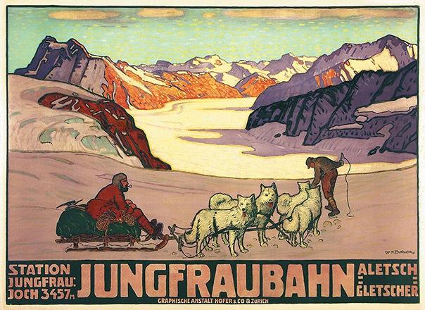 Burger Wilhelm Friedrich - Jungfraubahn