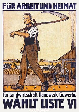 Burger Wilhelm Friedrich - Wählt Liste VI